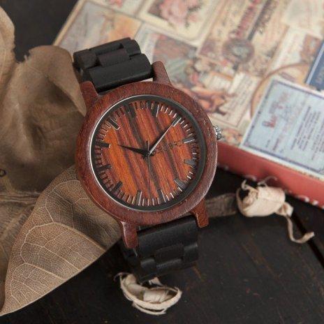 Dřevěné hodinky BOBO BIRD WM05