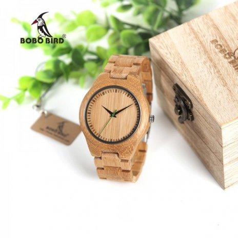Dřevěné hodinky BOBO BIRD G26