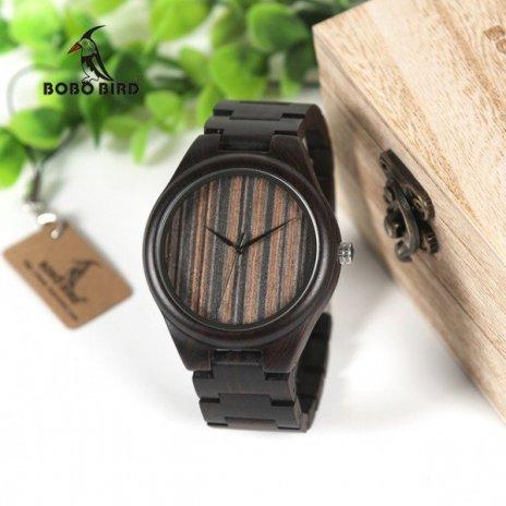 Dřevěné hodinky BOBO BIRD WH07