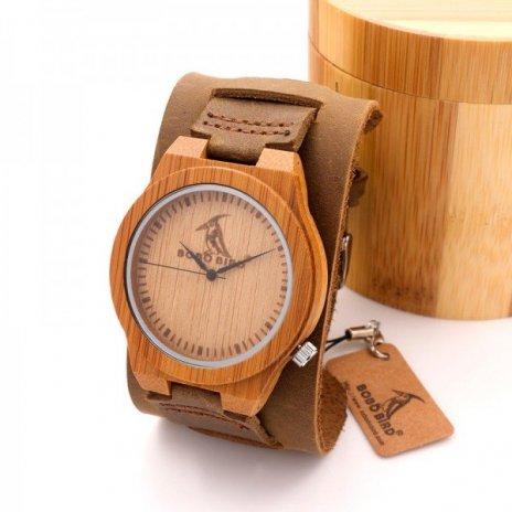 Dřevěné hodinky BOBO BIRD Z010