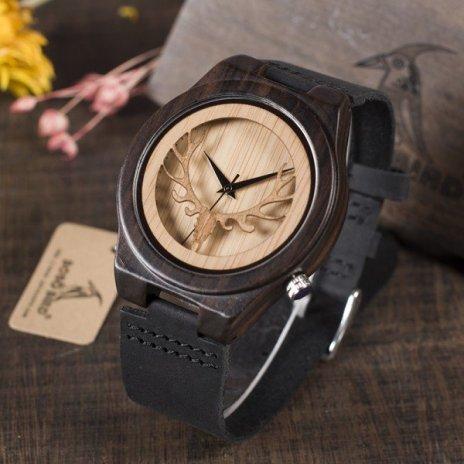 Dřevěné hodinky BOBO BIRD B18