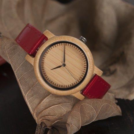 Dřevěné hodinky BOBO BIRD WJ09