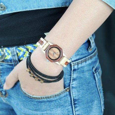 Dřevěné hodinky BOBO BIRD WM26