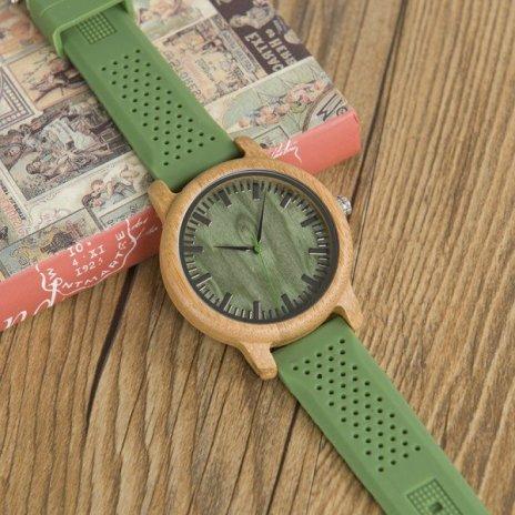 Dřevěné hodinky BOBO BIRD WB06