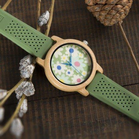 Dřevěné hodinky BOBO BIRD WB04