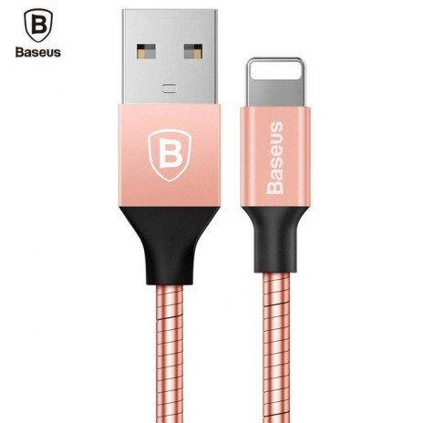 KB27 Mechanical Era kabel lightning, Růžová, 1m Růžová