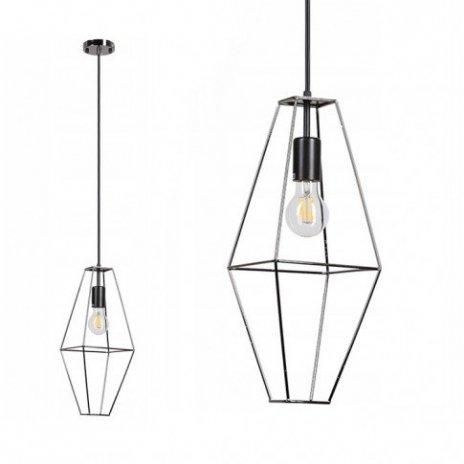 Závěsná lampa Diamond Rede - černá