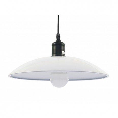 Závěsná stropní lampa SKANDI - bílá
