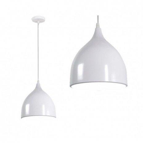 Závěsná lampa Manesa - bílá