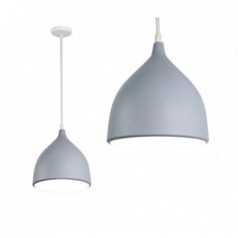 Závěsná lampa Manesa - šedá