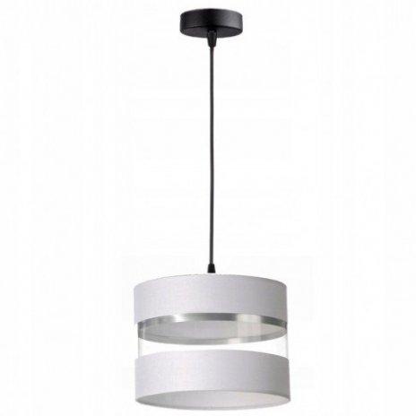 Závěsná lampa stínidla - bílá
