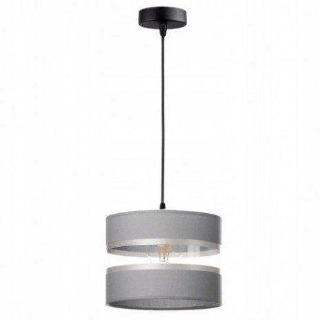 Závěsná lampa stínidla - šedá