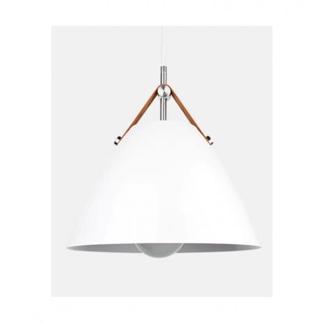 Závěsná lampa Perona - bílá
