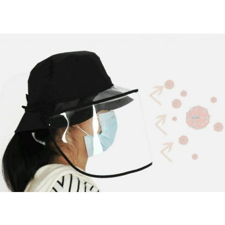 Čepice s ochrannou pokrývkou hlavy