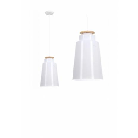 Závěsná stropní lampa Celtis - bílá