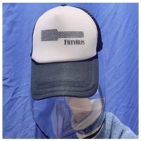 Kšiltovka s ochrannou pokrývkou hlavy UNISEX