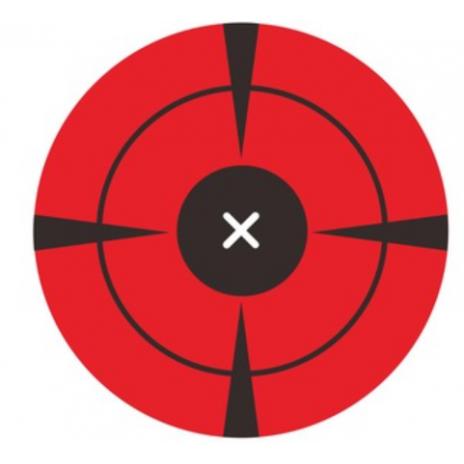 Samolepící lukostřelecký terč - 200ks