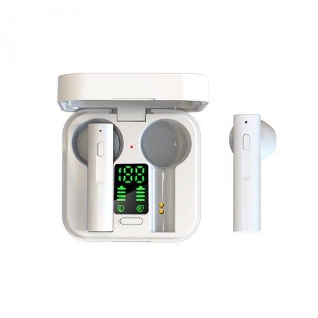 Bezdrátová sluchátka se solárním nabíjením Air6 PLUS a dobíjecím pouzdrem