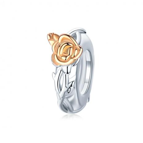 Bamoer stříbrný přívěsek Růže