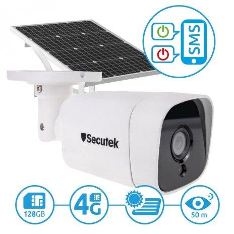 4G IP kamera se záznamem Secutek SBS-NC15G se solárním dobíjením