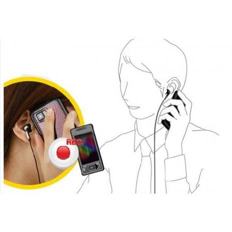 Adaptér pro nahrávání telefonních hovorů z mobilu