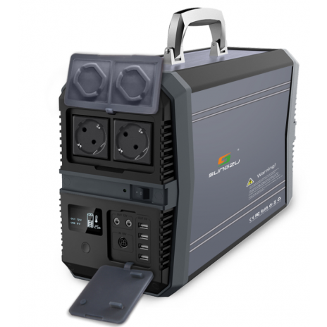 Bateriový generátor 1500 W / 417 600mAh (1 545Wh)