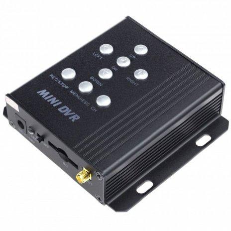 Bezdrátové 4CH DVR s detekcí pohybu