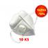 Respirátor s výdechovým ventilem KN95 - SADA 10 KS