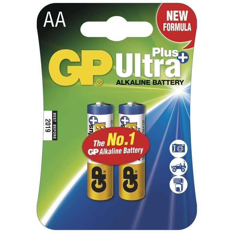 Alkalická baterie GP Ultra Plus LR6 (AA),blistr