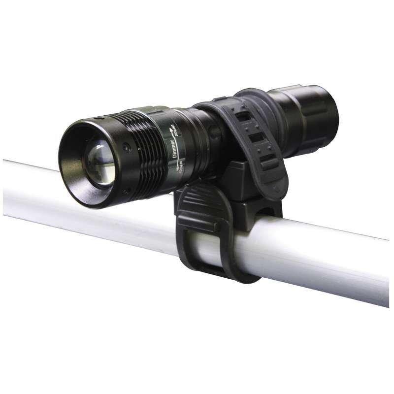 LED svítilna kovová, 1x LED 3W, na 3x AAA, FOKUS