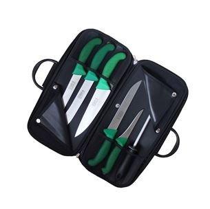 KDS Kabela s řeznickými noži Frosthard (zelená)
