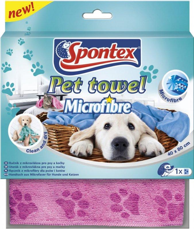 Spontex Pet Towel Mikroutěrka