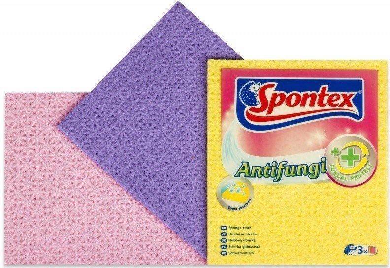 Spontex 3 Antifungi Houbová utěrka