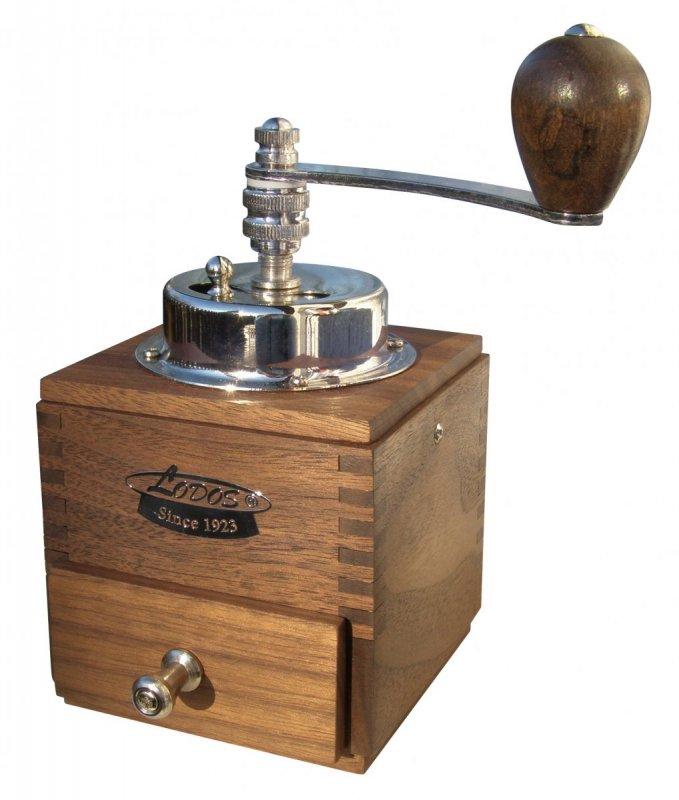 LODOS Ruční mlýnek na kávu 1945 Lux ořech
