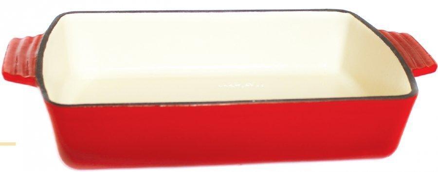 Belis Queen Line pekáč litinový hranatý 30,5 x 20,5 x 6 cm