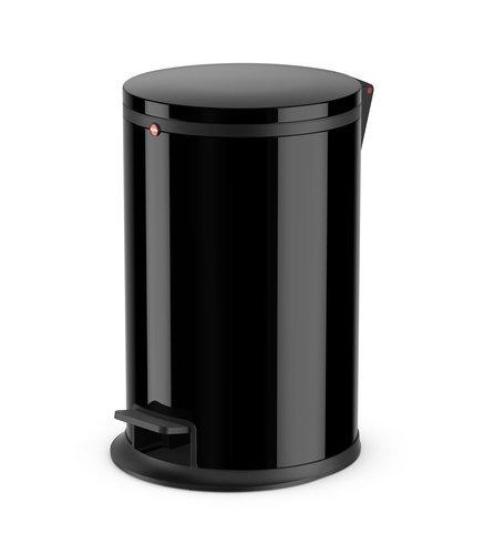 Koš odpadkový nášlapný Hailo 12 L černý lak