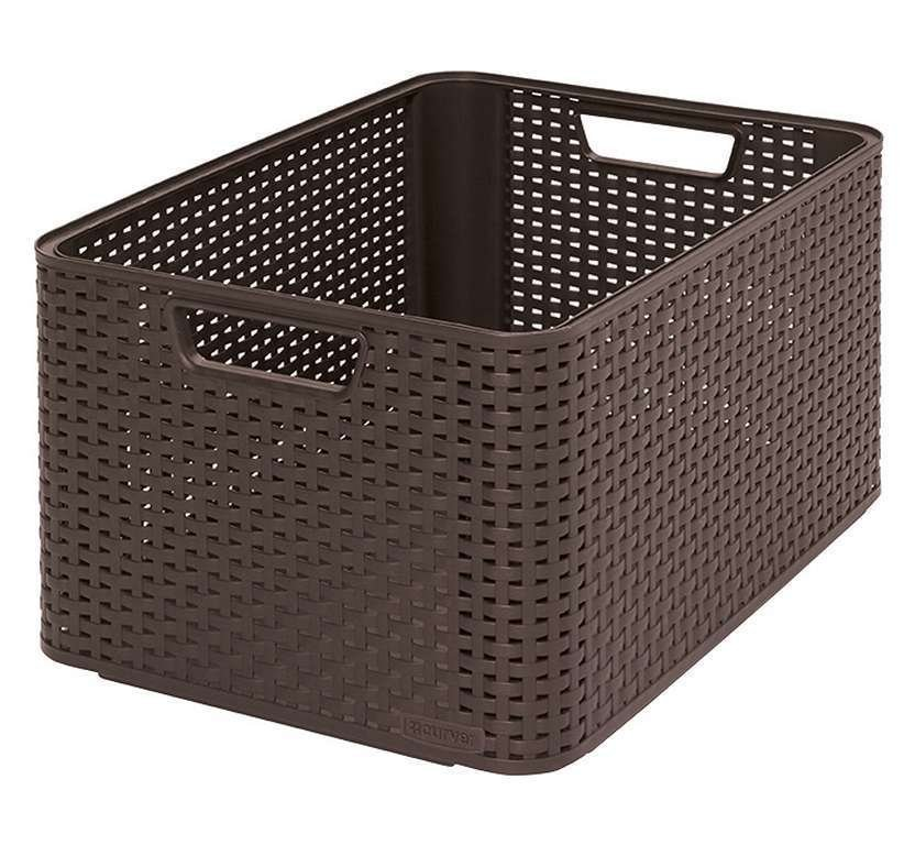 STYLE box - L - hnědý