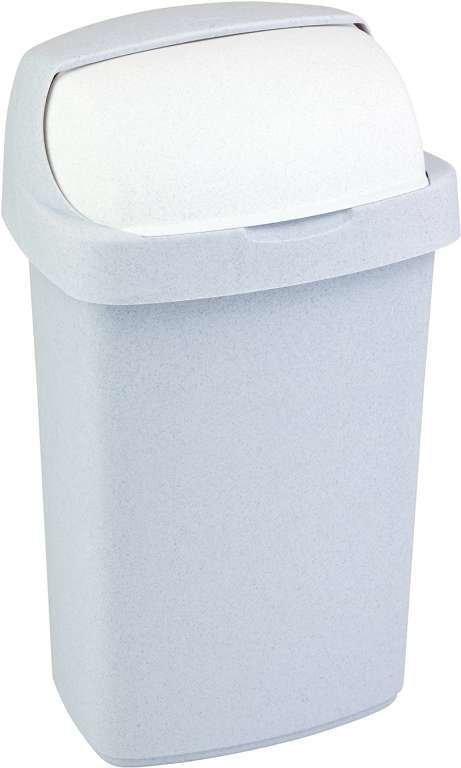 ROLL TOP 10L koš na odpadky - sv. šedý