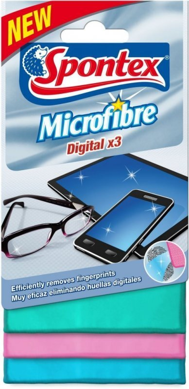 Spontex 3 Digital Mikroutěrka