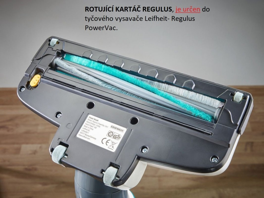 Rotující kartáč Regulus PowerVac 2in1