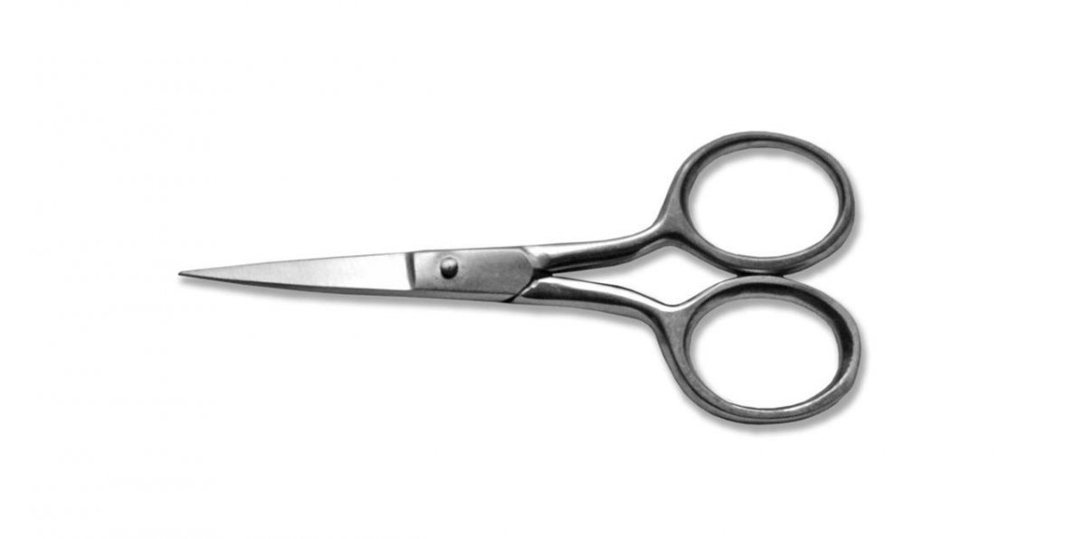KDS Nůžky vyšívací 9 cm - nerez