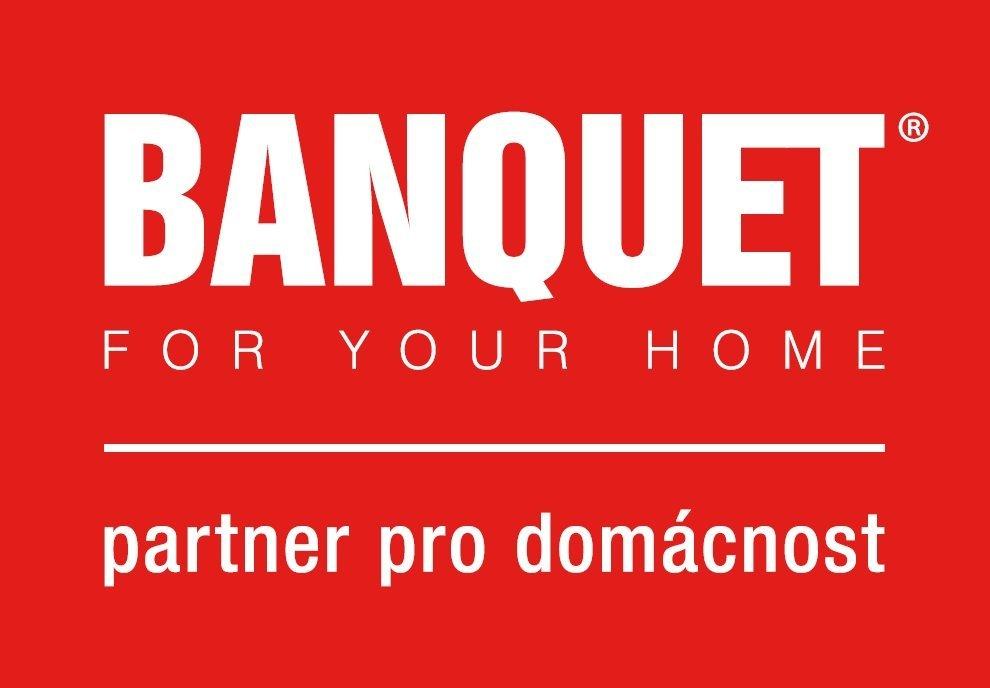 Banquet Sušák na prádlo Economy 16 m bílo-červený
