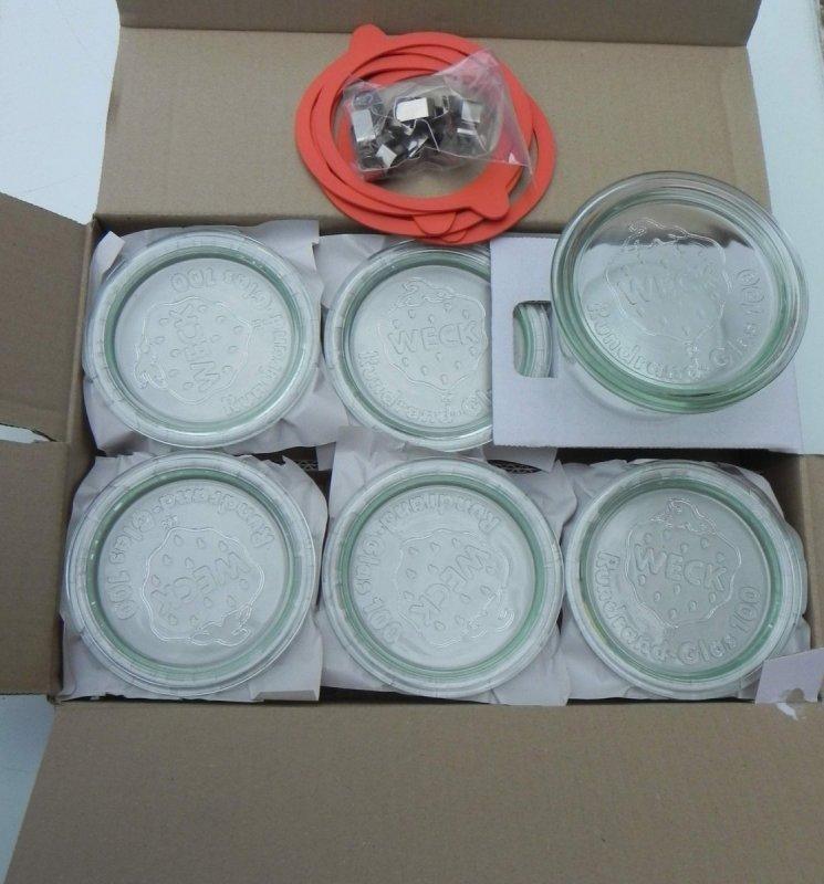 Westmark Zavařovací sklenice dekorativní Schmuck 560 ml, 6 kusů