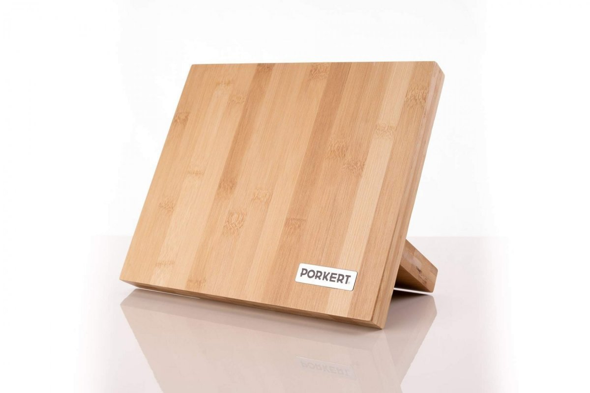 Porkert Sada nožů Eduard s bambusovým blokem 5 ks