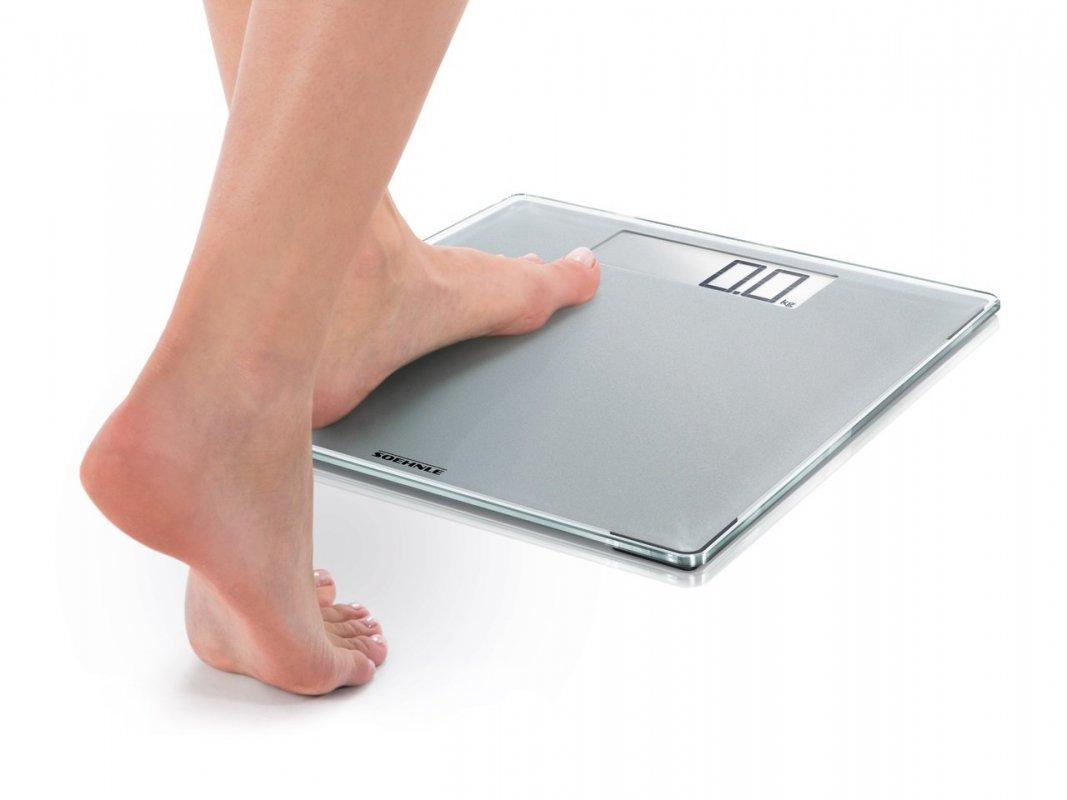 Soenhle Digitální osobní váha Style Sense Comfort 400 Silver 63855