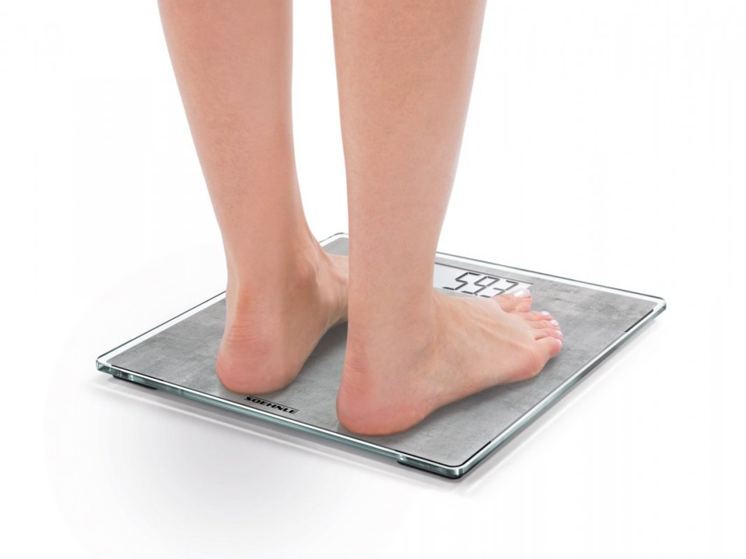 Soehnle Digitální osobní váha Style Sense Compact 300 - motiv beton 63882