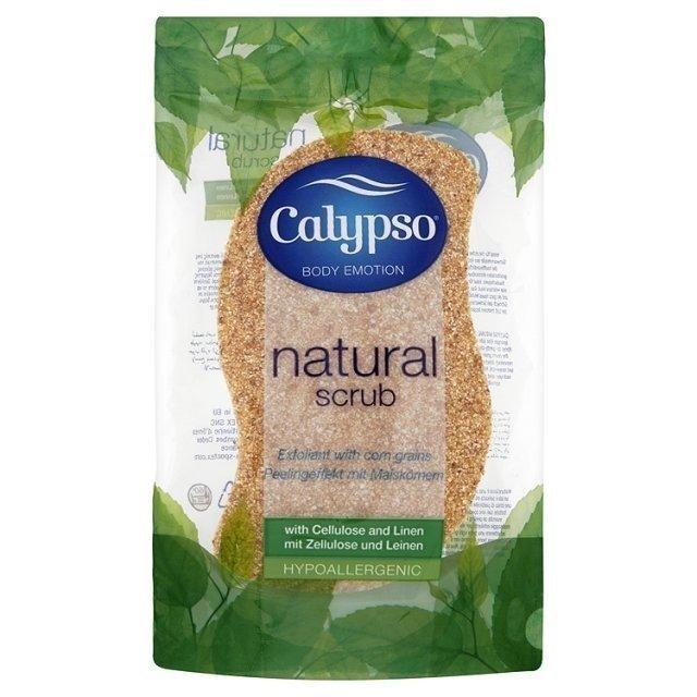 Viskózní Calypso Natural Scrub houba na peeling