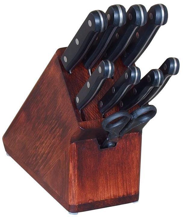 KDS Blok s noži a nůžkami Trend 8 ks