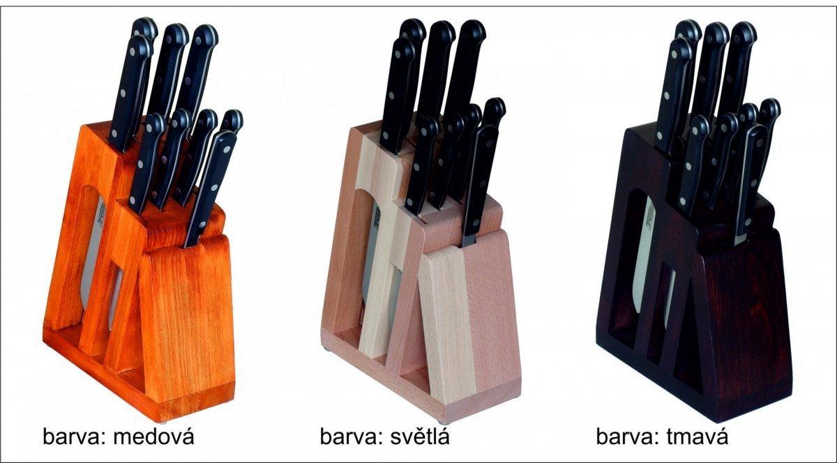 KDS Blok s 8 noži a vidlicí Trend