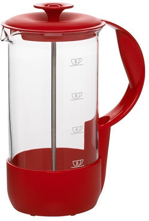Kávovar NEO na osm šálků, červený